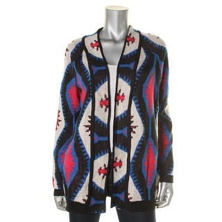 Material Girl Womens Juniors Cardigan Sweater Knit Open - M