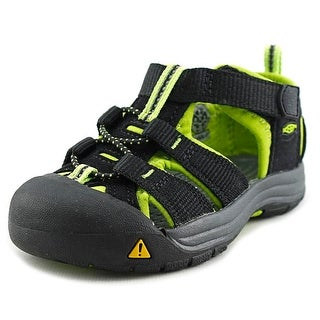 Keen Newport H2 Toddler Round Toe Synthetic Black Fisherman Sandal