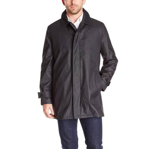 Hart Schaffner Marx Mens Jacket Gray Size Large L Mercury Rain Full Zip