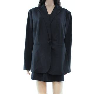 Lauren Ralph Lauren NEW Black Career 18W Plus Blazer Buttoned Jacket|https://ak1.ostkcdn.com/images/products/is/images/direct/17178dc2515187c5773a7a694d70193ca70eac25/Lauren-Ralph-Lauren-NEW-Black-Career-18W-Plus-Blazer-Buttoned-Jacket.jpg?impolicy=medium