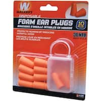 Walker's game ear(r) gwp-fp5pk foam ear plugs, 5 pk