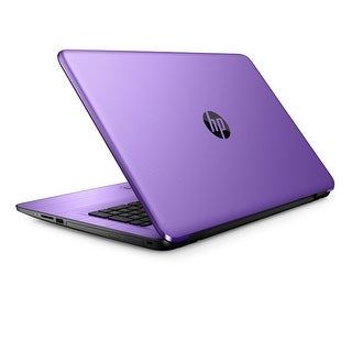 """HP 17-x102ds Intel Core i3-7100, 8GB DDR4, 2TB HDD, 17.3"""" Touchscreen Laptop (Certified Refurbished) - Purple"""