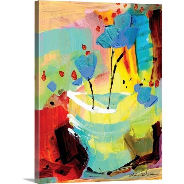 """Baby Blue"" Canvas Wall Art"