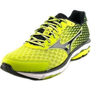 Mizuno Wave Rider 18 Men  Round Toe Synthetic Green Running Shoe