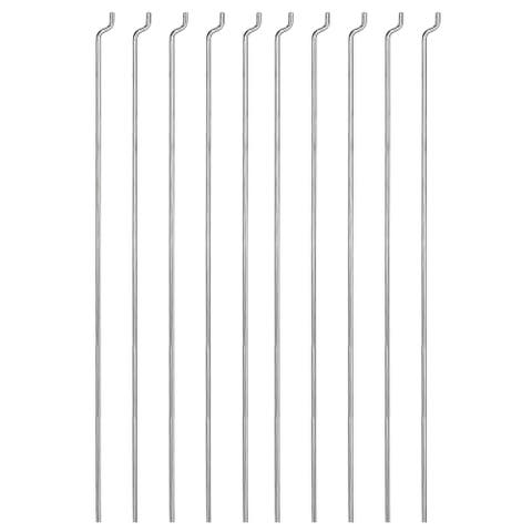 10PCS 1.2mm x 140mm (5.5 inch) Steel Z Pull/Push Rods Parts for RC Airplane Boat