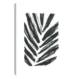 "PTM Images 9-108567  PTM Canvas Collection 10"" x 8"" - ""Palms"" Giclee Abstract Art Print on Canvas"