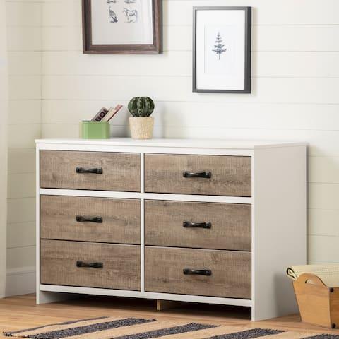 South Shore Hankel 6-Drawer Double Dresser