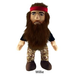 """Duck Dynasty 13"""" Plush With Sound Willie - multi"""