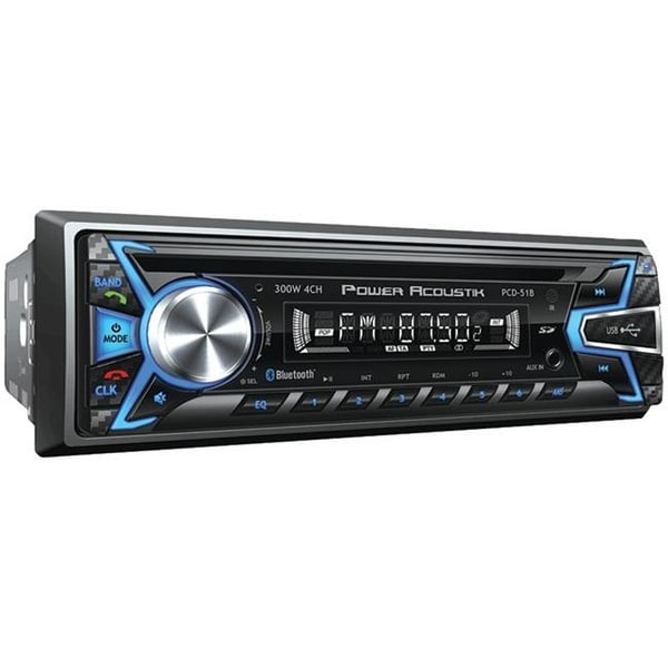 Single-DIN In-Dash CD-MP3 AM-FM Receiver with USB Playback with