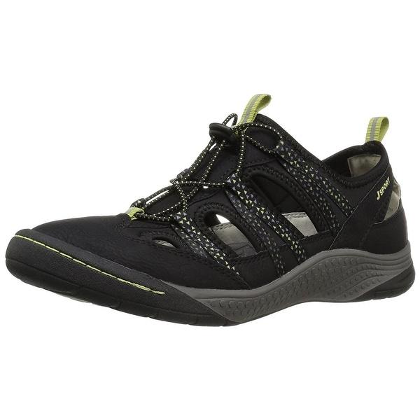 Jambu Womens Hibiscus Low Top Bungee Walking Shoes