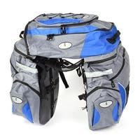 Unique Bargains Outdoor Sports Water Resistant Hiking Cycling Climbing Mountain Biking Backpack