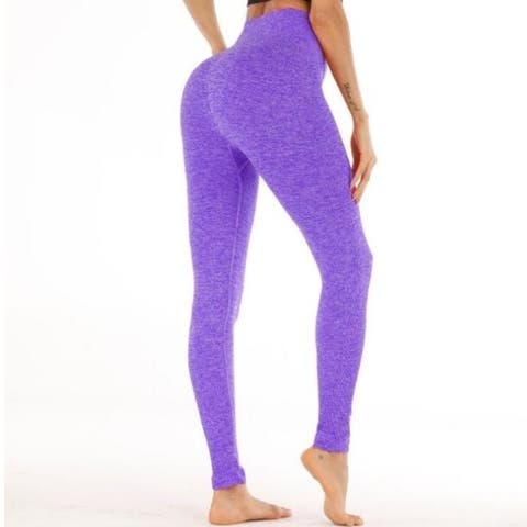 Yoga Pants, Women's Power Yoga Pants Tummy Control Workout Yoga Capris Pants Leggings