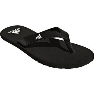 53d44615b38b6 Shop adidas Men s Eezay Essence Thong Sandal Black Black White - Free  Shipping On Orders Over  45 - Overstock - 19738939