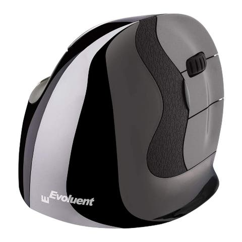 Evoluent VerticalMouse D Right Hand Ergonomic Wireless Mouse (Small)