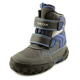 Geox Gulp Boy ABX 6 Toddler  Round Toe Synthetic Gray Snow Boot