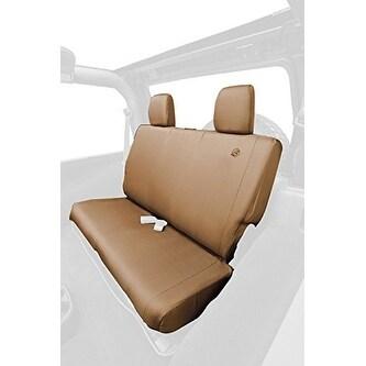 Shop Bestop 29281 04 Tan Rear Seat Cover For Jeep Wrangler Unlimi