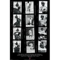 ''Muhammad Ali: Film Strips'' by Anon Celebrities Art Print (36 x 24 in.)