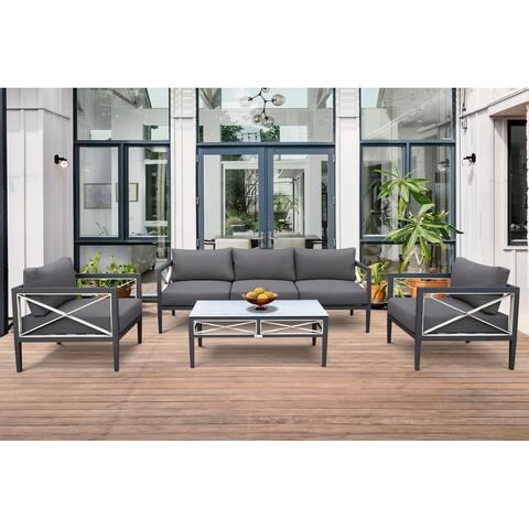 Sonoma Outdoor 4-piece Sofa Set