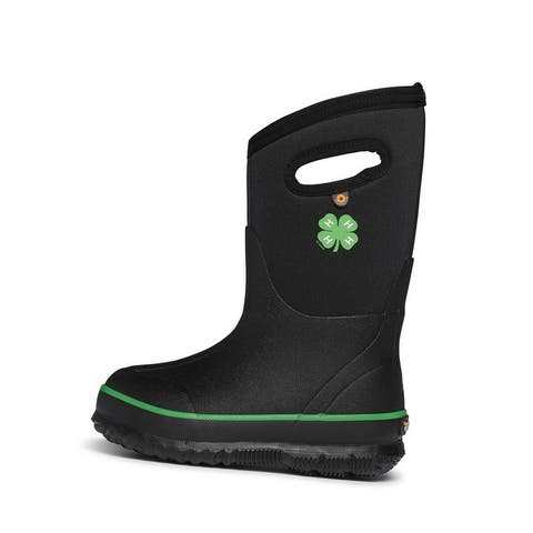 Bogs Outdoor Boots Boys Classic 4-H Waterproof Insulated