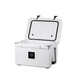 Monoprice Pure Outdoor Emperor 50 Liter Cooler White