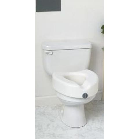 Medline MDS80314 Elevated Toilet Seat