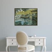 Easy Art Prints 's 'La Grenouillère' Premium Canvas Art