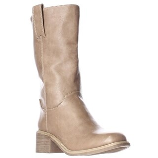 Dolce by Mojo Moxy Bounty Mid Calf Western Boots - Natural