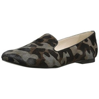 Cole Haan Womens Deacon Calf Hair Camouflage Smoking Loafers - 5.5 medium (b,m)