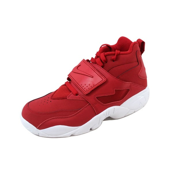 13c63e25e70 Shop Nike Men s Air Diamond Turf Gym Red Gym Red-White Deion Sanders ...