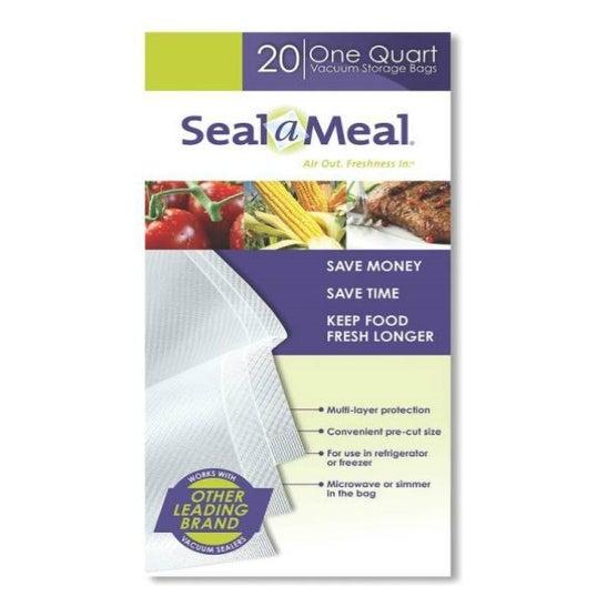 Rival FSSMBF0216-000 Seal-A-Meal Vacuum Sealer Bag, 1 Quart