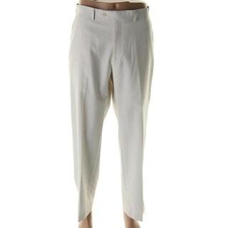 Sean John Mens Pinstripe Flat Front Dress Pants - 36/32