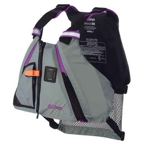 Onyx movement dynamic paddle sports life vest m/l purple