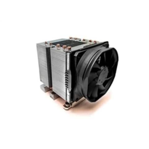Dynatron Fan B14 Intel LGA3647 3U Aluminum heatsink with heatpipe embedded Brown Box
