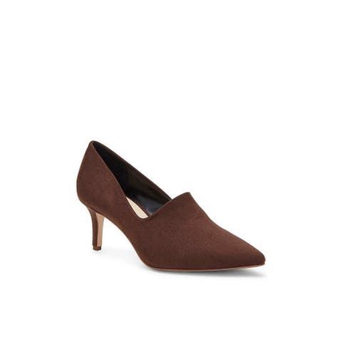 Enzo Angiolini Womens Dree Suede Pointed Toe Classic Pumps