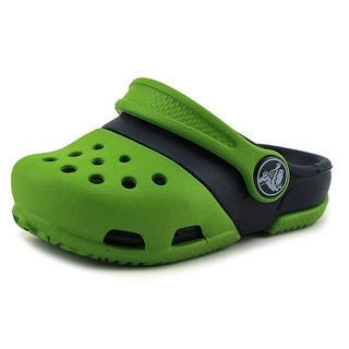 Crocs Electro II Clog Infant  Round Toe Synthetic Green Clogs