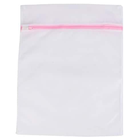 Thin Mesh Clothes Hosiery Classification Washing Laundry Bag 40cm x 50cm
