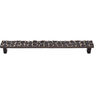 Top Knobs TK308 Cobblestone 8-13/16 Inch Center to Center Bar Cabinet Pull