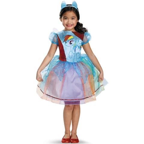 Disguise Rainbow Dash Deluxe Child Costume - Blue