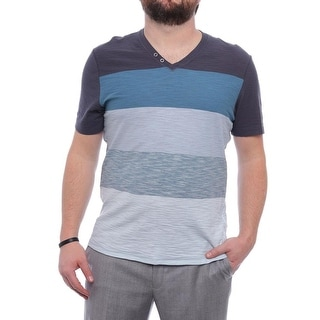 INC International Concepts Novelty Short Sleeve V-Neck Basic Tee Men