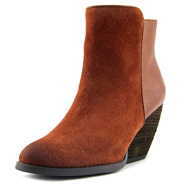 Very Volatile Malaga Women Round Toe Leather Bootie