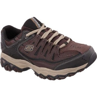 Skechers Men's After Burn Memory Fit Cross Training Shoe Brown/Taupe