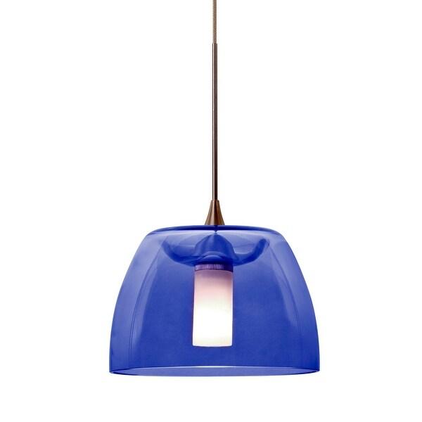 Corbett Lighting Sales Rep: Shop Besa Lighting 1XT-SPURBL-LED Spur 1-Light LED Mini