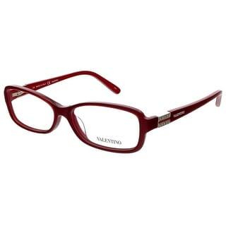 Valentino V2623 603 Bordeaux Rectangular Valentino Eyewear