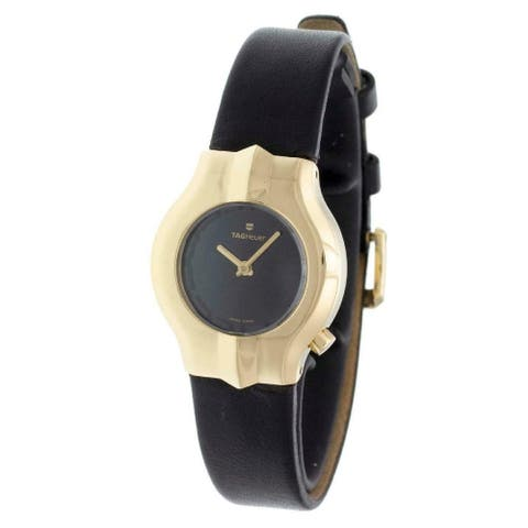 Tag Heuer Women's WP1441.FC8148 'Alter Ego' Black Leather Watch