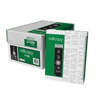 Willcopy 3-Hole Copy Paper, 8-1/2 x 11 Inches, White, 5000 Sheets
