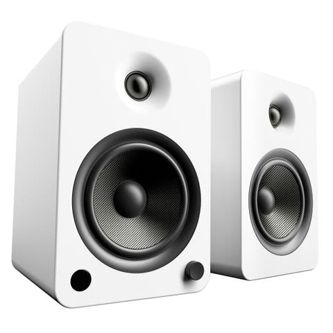 Kanto YU6 Powered Bookshelf Speakers with Built-In Bluetooth - Pair