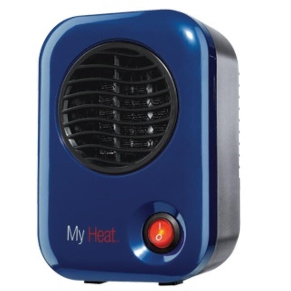 Lasko 102 MyHeat 200W Personal Ceramic Heater - Blue