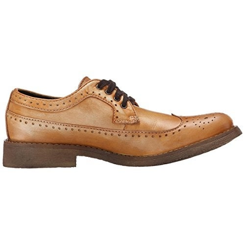 BedStu Men's Beacon Oxford, Natural Glove, 8 M US