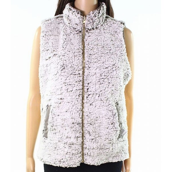 Thread & Supply Green Womens Size Medium M Reversible Vest Jacket