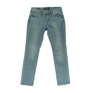 Lucky Brand Womens Denim Low-Rise Ankle Jeans